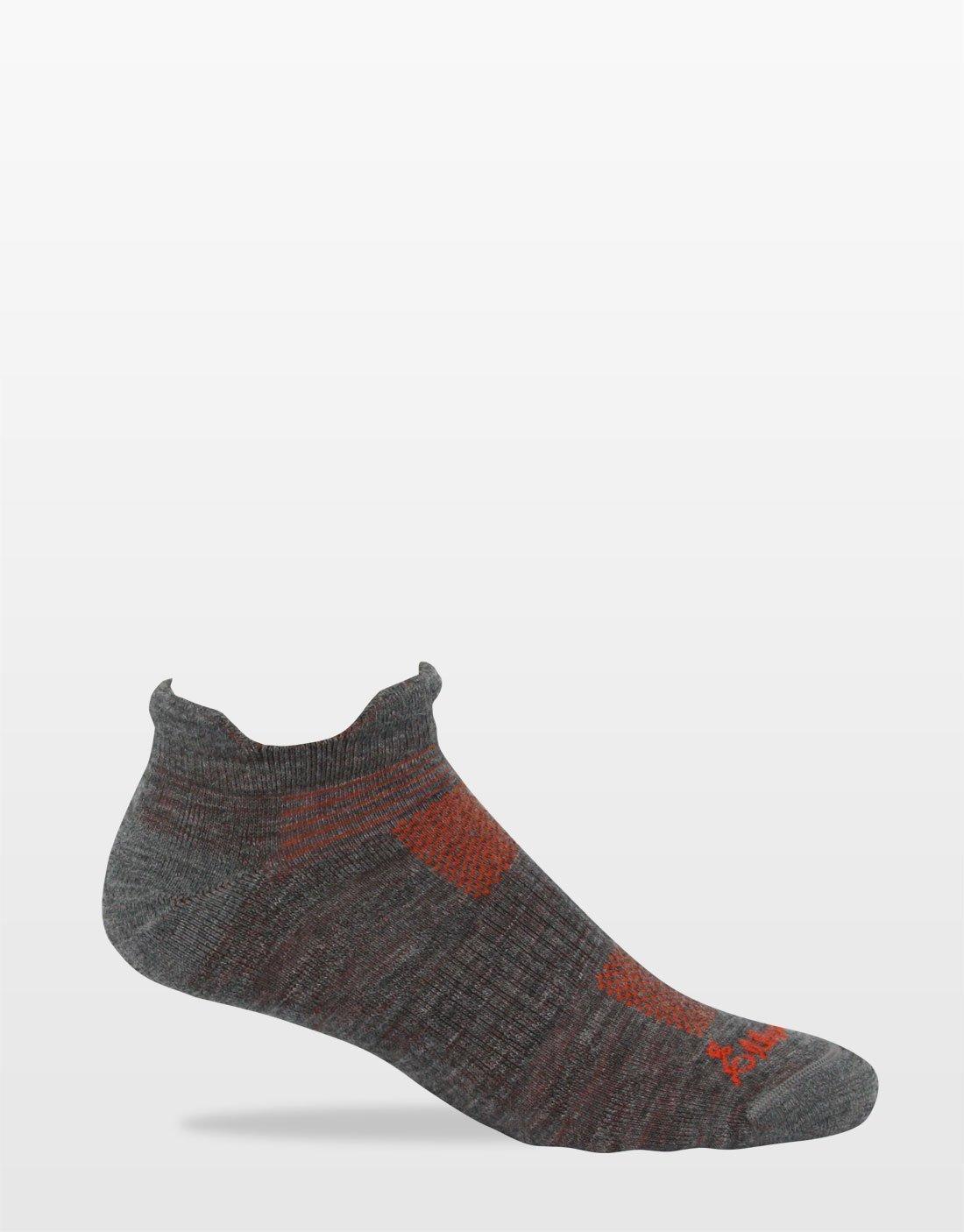 light hike gray sock