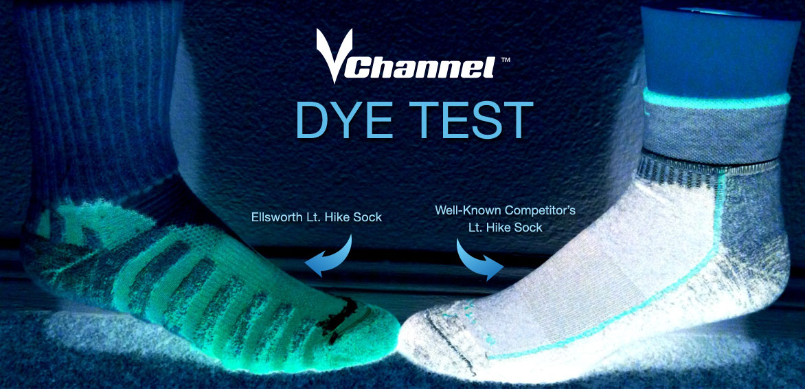 Ellsworth VChannel Dye Test